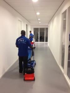 Oplevering nieuwbouw door Mam's Cleaning & Services